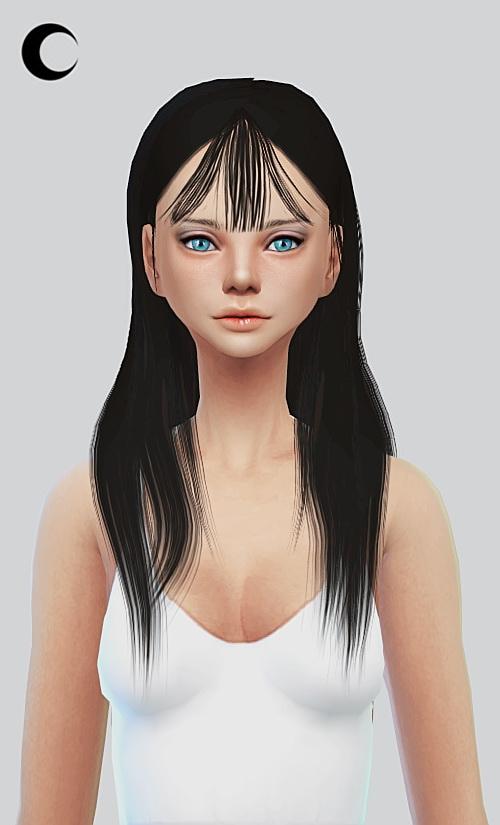 Sims 4 TS4 See Through Bangs at Kalewa a