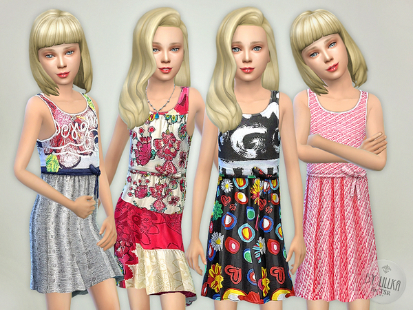 Sims 4 Designer Dresses Collection P14 by lillka at TSR