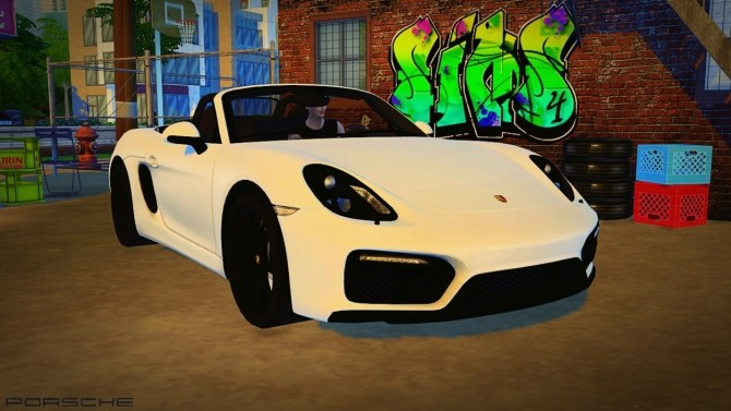 2016 Porsche Boxster GTS at Maximss image 418 670x377 Sims 4 Updates