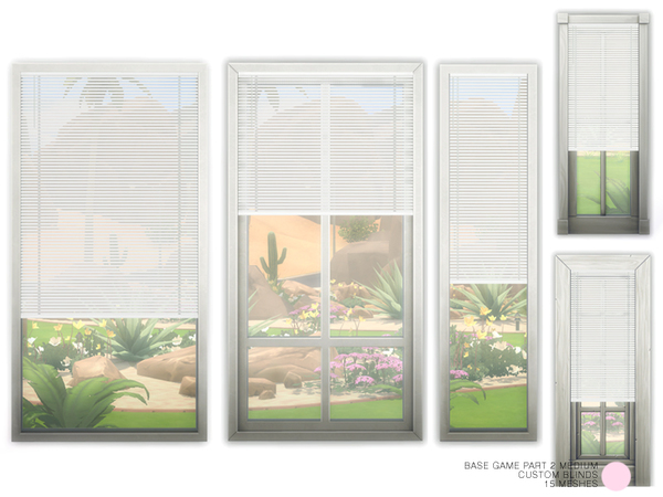 Custom Blinds Medium Set by DOT at TSR image 4215 Sims 4 Updates