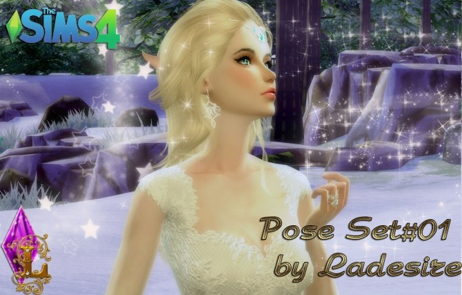 Sims 4 Pose Pack #01 at Ladesire