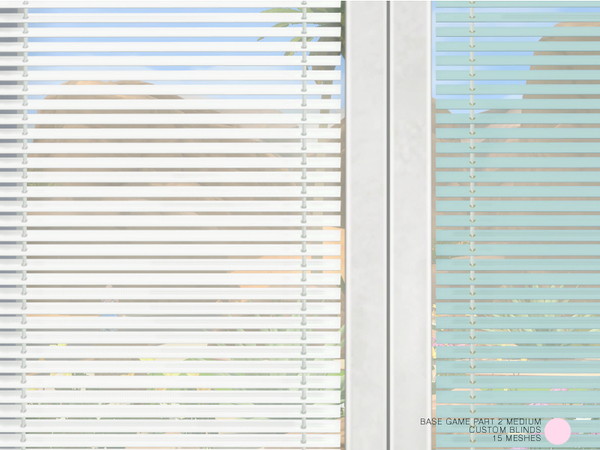 Custom Blinds Medium Set by DOT at TSR image 4317 Sims 4 Updates