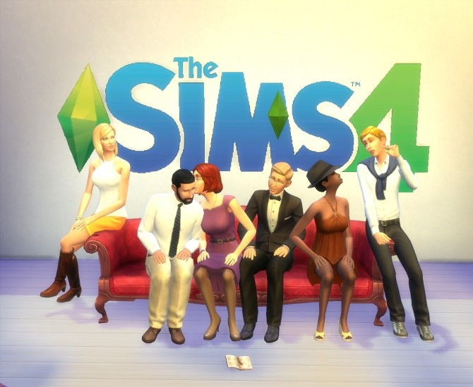 Sims 4 Couch Together by artrui at Mod The Sims