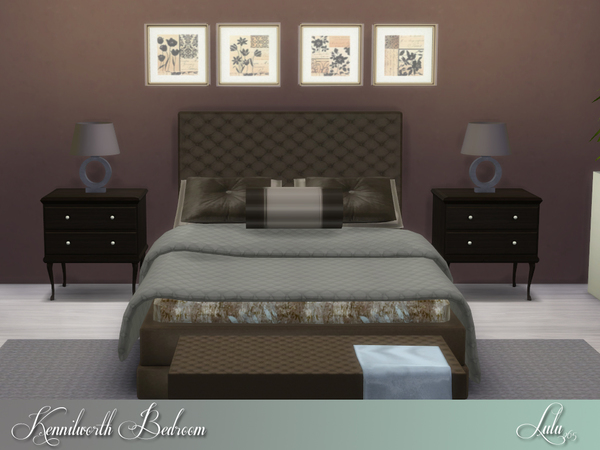 Sims 4 Kenilworth Bedroom by Lulu265 at TSR