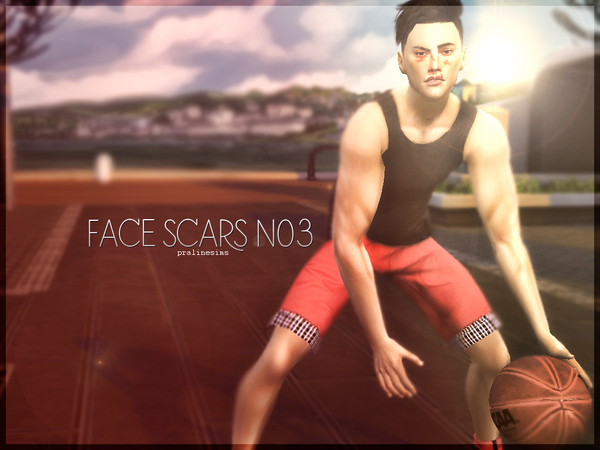 Face Scars N03 by Pralinesims at TSR image 450 Sims 4 Updates