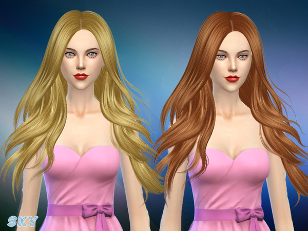 Hair 280 Zoe by Skysims at TSR image 4516 Sims 4 Updates