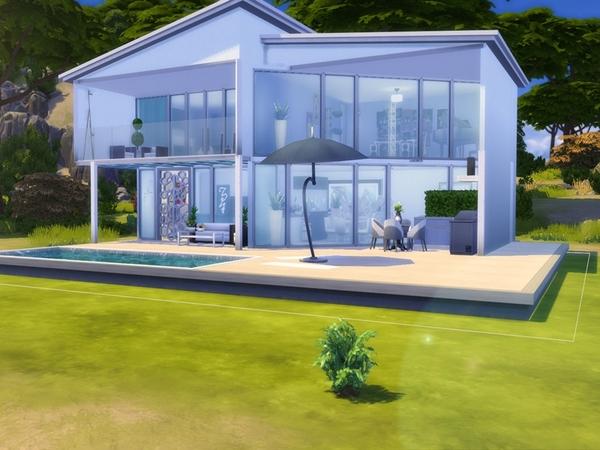 Sims 4 Modern House by Dreacia at TSR