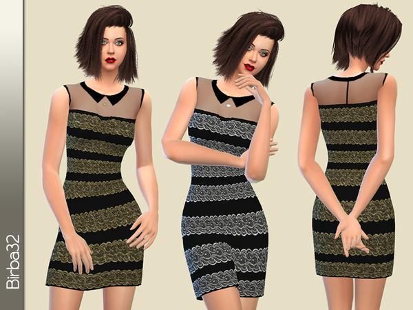 Silvia dress by Birba32 at TSR image 4524 Sims 4 Updates