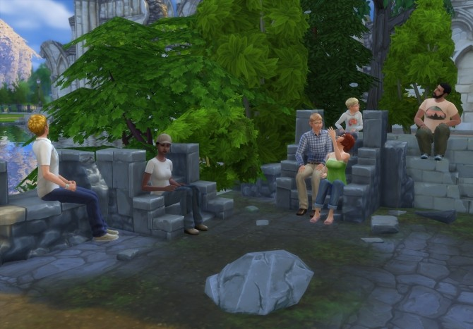 Sims 4 Rock TV by artrui at Mod The Sims