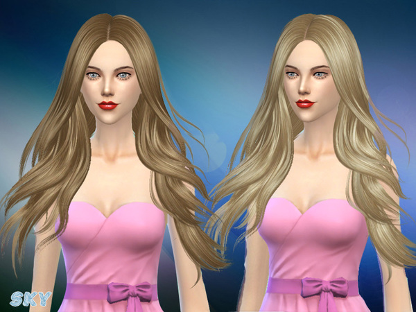 Hair 280 Zoe by Skysims at TSR image 4615 Sims 4 Updates