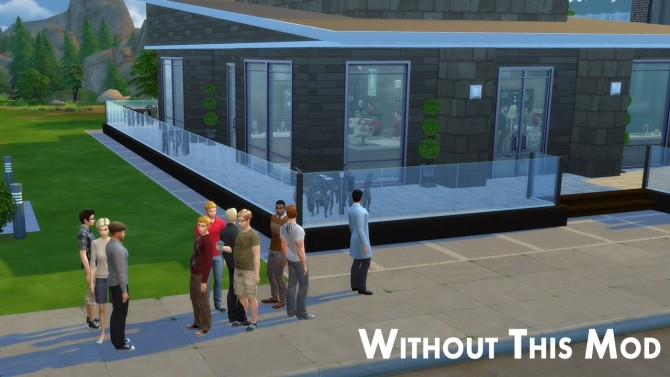 Sims 4 Visitors Not Spawning in Front of Venues by weerbesu at Mod The Sims