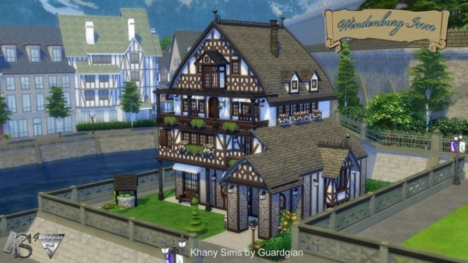 Windenburg Inn by Guardgian at Khany Sims image 4810 670x377 Sims 4 Updates