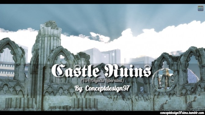 Sims 4 Castle Ruins Set (Objects Liberated EP02) at ConceptDesign97