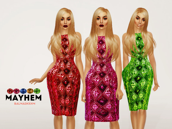 Dress by NataliMayhem at TSR image 49 Sims 4 Updates