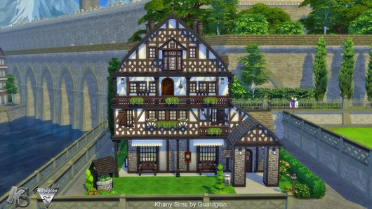 Windenburg Inn by Guardgian at Khany Sims image 4910 Sims 4 Updates