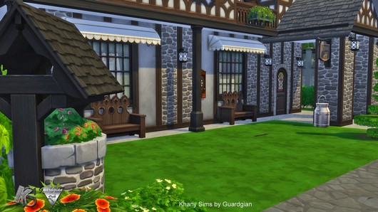 Windenburg Inn by Guardgian at Khany Sims image 5010 Sims 4 Updates