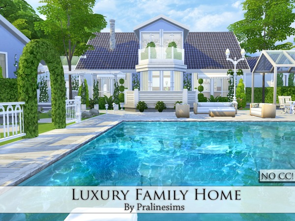 Luxury Family Home by Pralinesims at TSR image 507 Sims 4 Updates