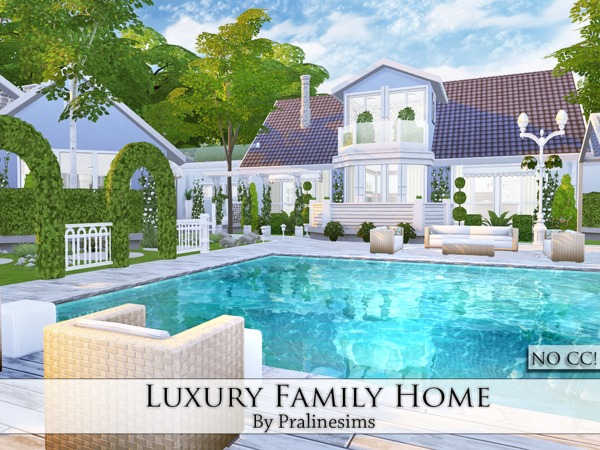 Luxury Family Home by Pralinesims at TSR image 5111 Sims 4 Updates