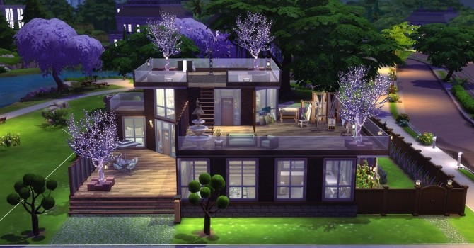 Sims 4 Whimsybox v1.0 house by Alrunia at Mod The Sims