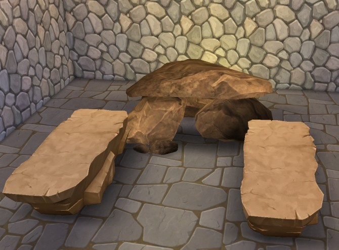Sims 4 Prehistoric Sauna by Anni K at Historical Sims Life