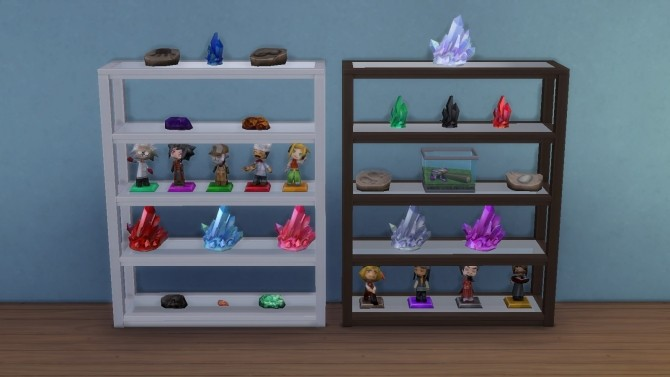 Grand Designs Collectible Shelf By Chaggith At Mod The