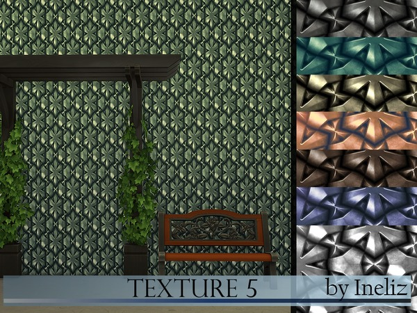 Sims 4 Texture 5 by Ineliz at TSR