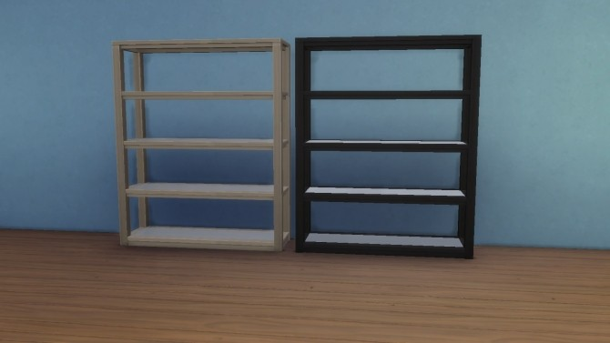 Sims 4 Grand Designs Collectible Shelf by chaggith at Mod The Sims