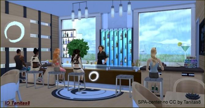 Spa Center No Cc At Tanitas8 Sims 187 Sims 4 Updates