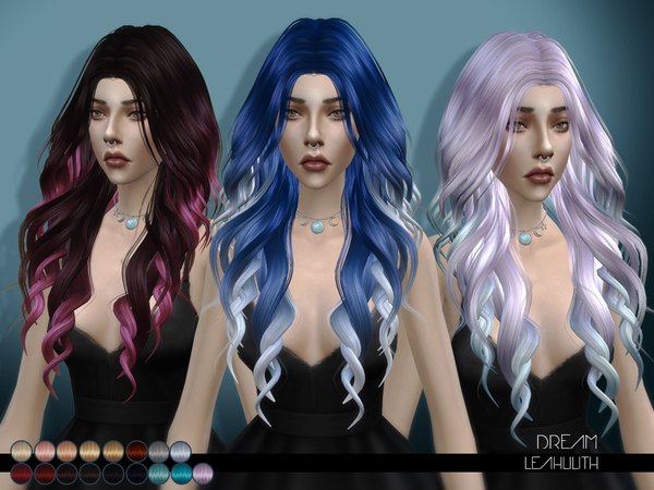 Dream hair by LeahLilith at TSR image 60 Sims 4 Updates