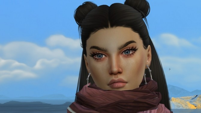 Sims 4 Anabel by Elena at Sims World by Denver