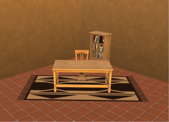 Ts3 Mission Style Study Set Converted By Zahkriisos At Mod