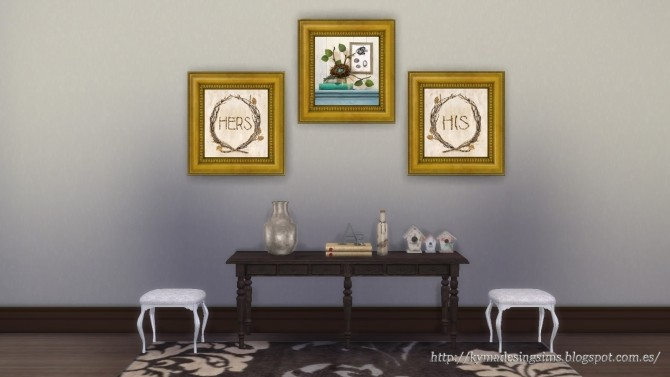 Botanical Home Paintings at Kyma Desingsims S4 image 609 670x377 Sims 4 Updates