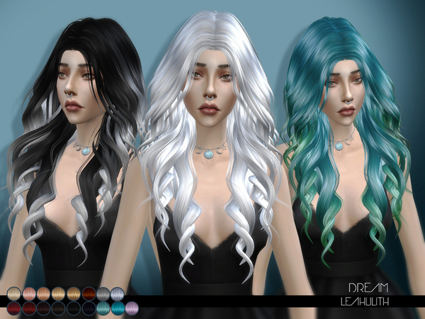 Dream hair by LeahLilith at TSR image 61 Sims 4 Updates