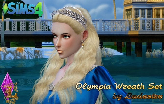 Olympia Wreath Set at Ladesire image 619 670x427 Sims 4 Updates