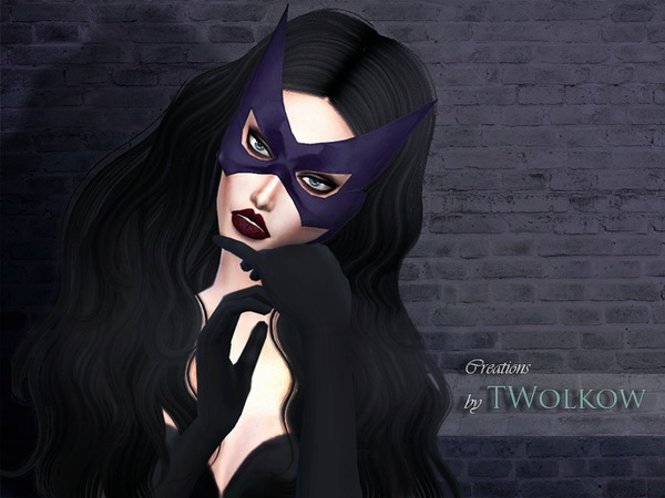 Huntress mask by TWolkow at TSR image 649 Sims 4 Updates