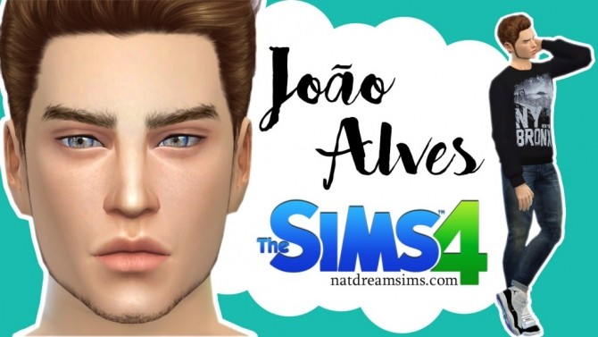 Sims 4 João Alves at Nat Dream Sims