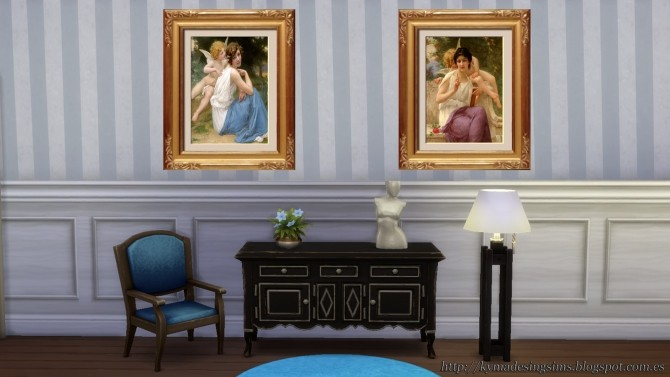Angels with light paintings at Kyma Desingsims S4 image 7211 670x377 Sims 4 Updates