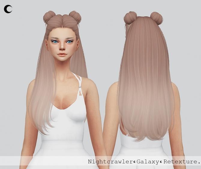 Galaxy Hair Texture At Kalewa-a » Sims 4 Updates