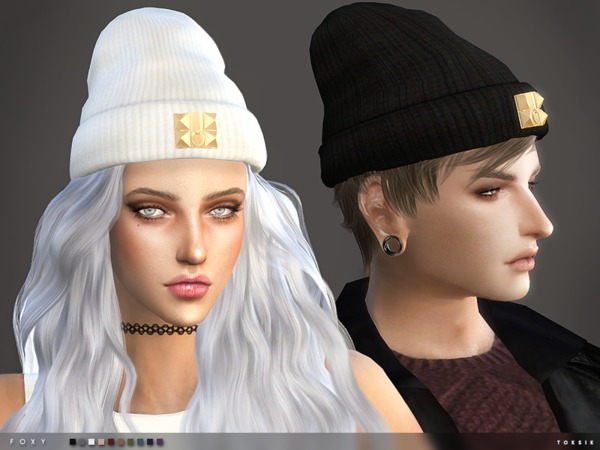 Cat in the hat bathroom decor - Foxy Beanie By Toksik At Tsr Image 740 Sims 4 Updates