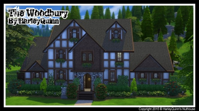 The Woodbury house at Harley Quinn's Nuthouse image 7411 670x375 Sims 4 Updates