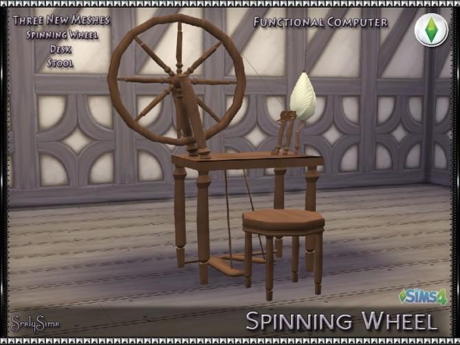 Spinning Wheel at SrslySims image 7417 670x503 Sims 4 Updates