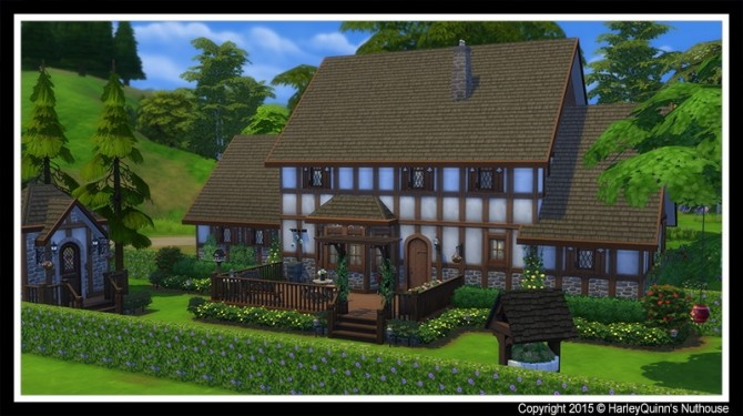 The Woodbury house at Harley Quinn's Nuthouse image 7512 670x375 Sims 4 Updates