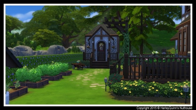 The Woodbury house at Harley Quinn's Nuthouse image 7612 670x375 Sims 4 Updates