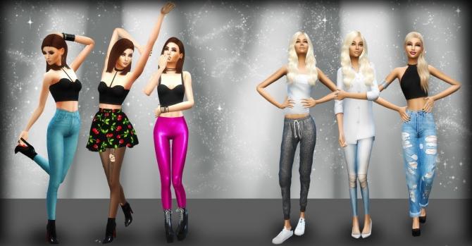 Pose Pack 1 At Randomchick32 187 Sims 4 Updates