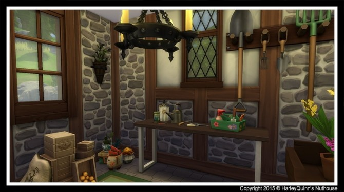The Woodbury house at Harley Quinn's Nuthouse image 7711 670x375 Sims 4 Updates