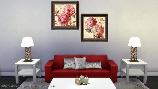 Sims 4 Marche de Fleurs paintings at Kyma Desingsims S4