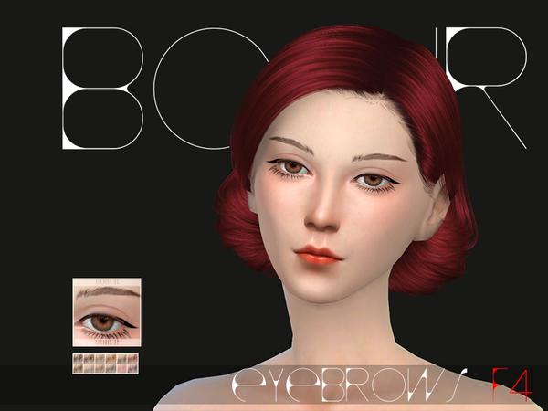 Bobur Eyebrows F04 by Bobur at TSR image 780 Sims 4 Updates