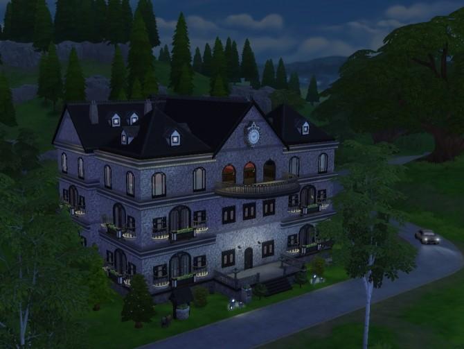 Dark Mansion No Cc At Tatyana Name 187 Sims 4 Updates