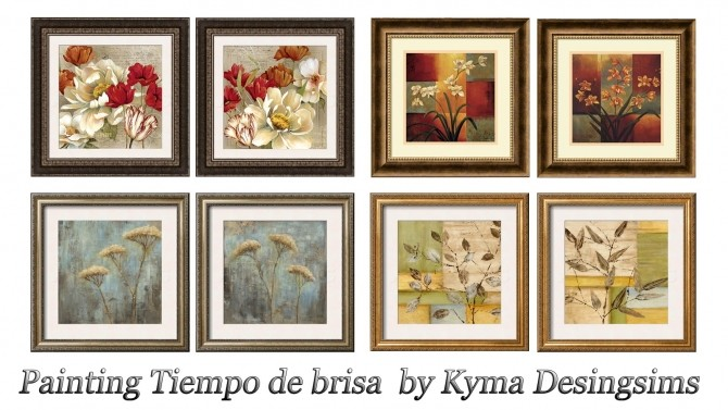 Tiempo de brisa paintings at Kyma Desingsims S4 image 799 670x377 Sims 4 Updates