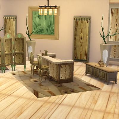 Punto Banco bar set at Trudie55 image 8013 Sims 4 Updates